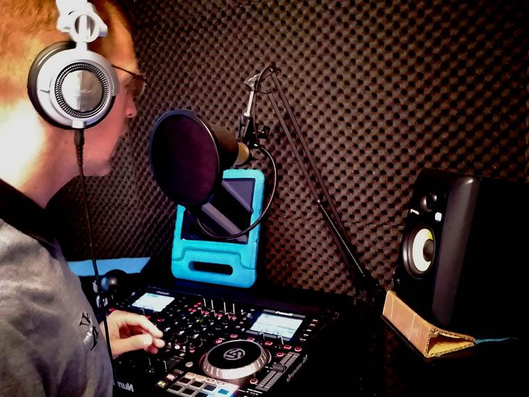 Radioshow presenteren 01